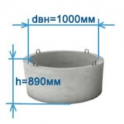 Бетонные кольца КС10-9